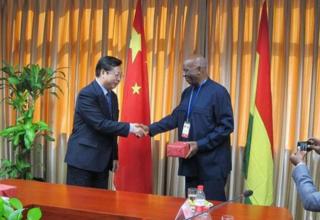 全国老龄办主任陈传书会见加纳国家人口委员会主席  Arkutu