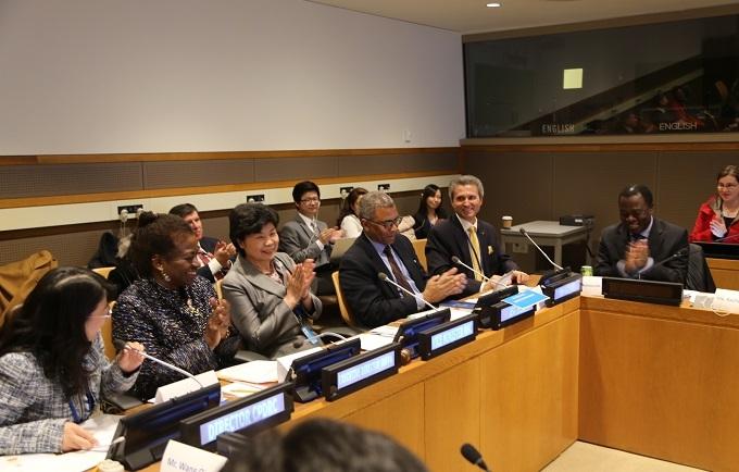 中国代表团在第51届联合国人口与发展会议期间进行中国人口迁移和城镇化经验分享