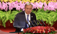 Secretary-General António Guterres speaks at the 2018 Beijing Summit of the Forum on China-Africa Cooperation