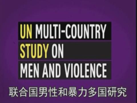 联合国男性和暴力多国研究 UN Multi-country study on GBV